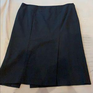 Bebe pencil skirt side zip two slits